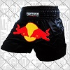 FIGHTERS - Muay Thai Shorts / Red Bull / Schwarz