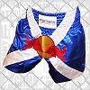 FIGHTERS - Muay Thai Shorts / Red Bull / Blue-White