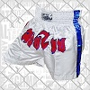 FIGHTERS - Pantaloncini Muay Thai / Bianco