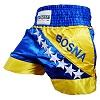 FIGHTERS - Muay Thai Shorts / Bosnien-Bosna