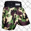 FIGHTERS - Muay Thai Shorts / Warrior / Camouflage / XL
