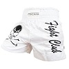 FIGHTERS - Muay Thai Shorts / Fight Club / Weiss