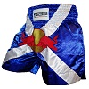 FIGHTERS - Muay Thai Shorts / Red Bull / Blau-Weiss