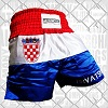 FIGHTERS - Muay Thai Shorts / Kroatien-Hrvatska / Grb / Medium