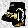 FIGHTERS - Muay Thai Shorts / Schwarz-Gold / Small
