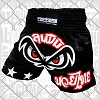 FIGHTERS - Muay Thai Shorts / No Fear / Schwarz