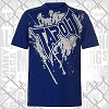 Tapout - T-Shirt / Blau-Weiss