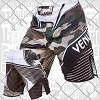 Venum - Fightshorts MMA Shorts / Camo Hero / Grün-Braun / Small