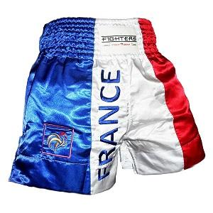 FIGHTERS - Muay Thai Shorts / Frankreich / Small